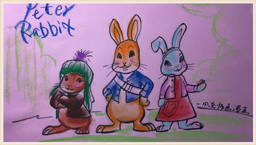 3月11日【成品图】彼得兔