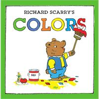Richard Scarry's Colors斯凯瑞童书-颜色