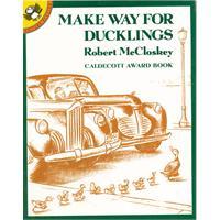 Make Way for Ducklings 给小鸭子让路