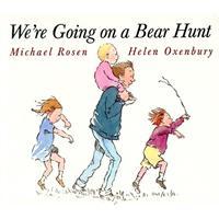 We're Going on a Bear Hunt (Classic Board Books) 和爸爸去猎熊